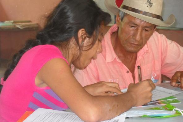 En Colombia, cerca del 48% de las personas, pertenecientes al sector ganadero, son analfabetas.