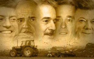 Presidentes de Colombia entre 1990 y 2014