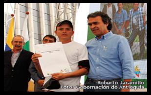 Roberto Jaramillo campesino de Antioquia