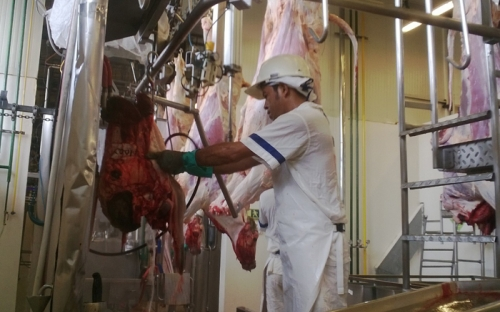 corte de carne