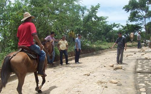 Vías terciarias de Bolívar