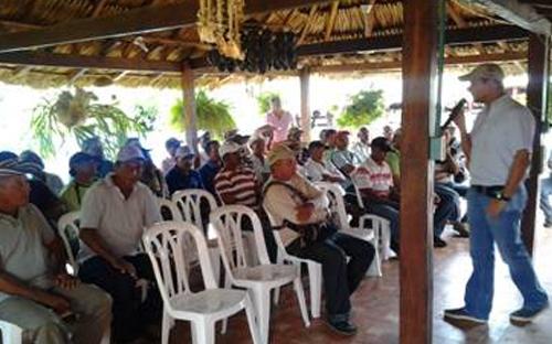 Día de Campo en Calamar (Bolívar).