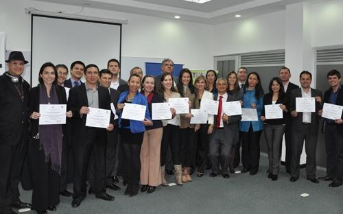 En este diplomado participaron 62 funcionarios de la Federación Colombiana de Ganaderos, Fedegán de nivel regional y nacional hicieron parte del grupo de graduados.