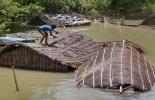 Inundaciones en época de lluvias en Colombia