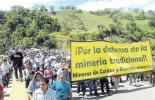 paro de mineros en Colombia