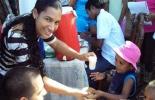 Más de 3.000 niños de diferentes barrios recibieron este beneficio. Foto: Archivo.