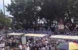 Una multitudinaria marcha invadió las calles de Villavicencio