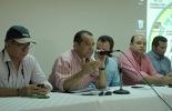 La reunión fue encabezada por el dirigente José Tomás Severini