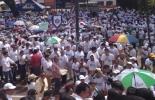 Una multitudinaria marcha recorrió las calles de Villavicencio rechazando la Violencia