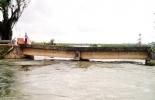 El puente La Balsa, colapsó debido a fuertes lluvias que azotan el departamento del Sucre. Foto: Archivo.