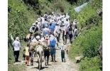 Las presiones de la guerrilla han obligado a campesinos de la zona a buscar otros lugares