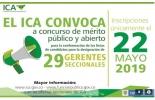 ICA, convocatoria, convocatoria de méritos, gerentes regionales del ICA, inscripciones solo el 22 de mayo de 2019, CONteto ganadero, Noticias ganaderas colombianas, empleo