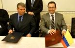 Yoed Magen, embajador de Israel en Colombia, y Sergio Díaz-Granados, ministro de Comercio, Industria y Turismo. Foto: Mincomercio.