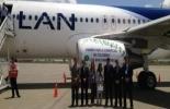 Primer vuelo comercial con biocombustibles