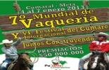 Afiche VI Encuentro Mundial de Vaquería, Cumaral, Meta.
