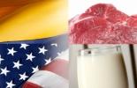 importaciones y exportaciones de leche y carne