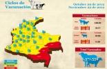 Datos actualizados del ciclo de vacunación en Colombia / CONtexto ganadero