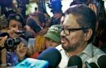 Iván Márquez, negociador de las FARC en Cuba  © AFP Adalberto roque