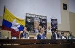 Delegados de las FARC en las conversaciones de paz en La Habana con el gobierno colombiano el jueves pasado  © AFP Adalberto Roque