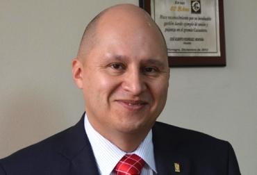 Eduard Baquero López, presidente de Fedecacao