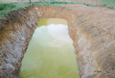 Sequía en Santander