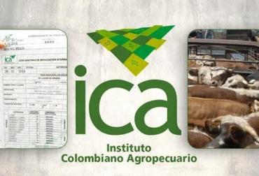guías de movilización animal ICA