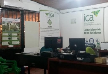 ICA, oficina, funcionamiento, cierre, guías de movilización, expedición, inconformidad,
