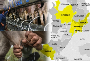 cuencas lecheras Colombia producción