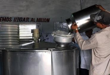 acopio de leche Colombia