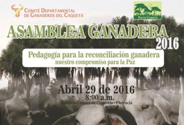asamblea general, comité de ganaderos de Caquetá, ganaderos de Caquetá, Pacto Caquetá, ganadería sostenible, Contexto Ganadero