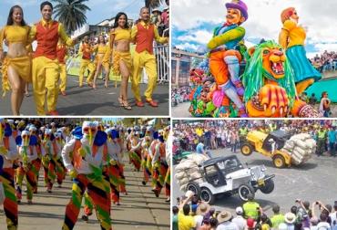 eventos nacionales, fiestas colombianas, Feria de Cali, Carnaval de Negros y Blancos, Feria de Manizales, Carnaval de Barranquilla, CONtexto ganadero