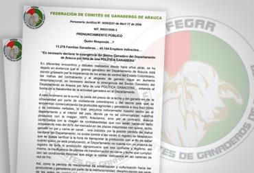 emergencia del sector ganadero de Arauca, falta de política ganadero en Arauca, Contrabando en Arauca, abandono estatal en Arauca, llamado a los ganaderos de Arauca, foros regionales en Arauca, contexo ganadero