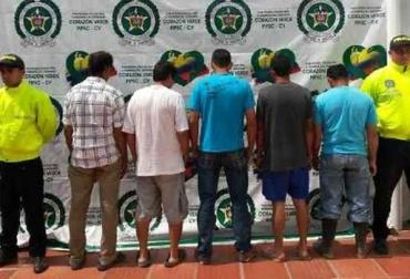 Captura de banda dedicada al robo de ganado, ʿel triángulo de las bermudasʾ, actuaba en departamentos de la Costa Caribe, captura en flagrancia, CONtexto Ganadero, noticias de ganadería colombiana.