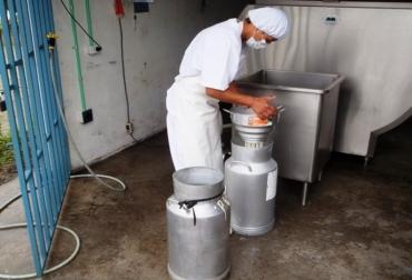 Centro de acopio leche