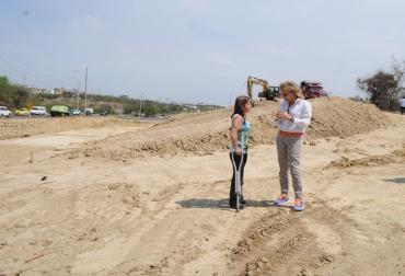 Inversión para vías en Barranquilla