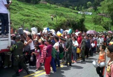 Crisis láctea en Antioquia