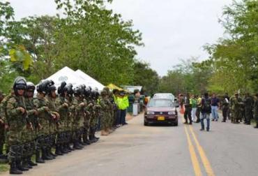 Seguridad en Arauca