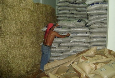 Similar a la bodega de Putumayo, acá el ganadero encontrará suplementos alimenticios como melaza, heno y Mezclagán.