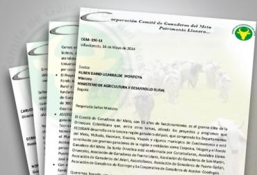 carta de respaldo a fedegán