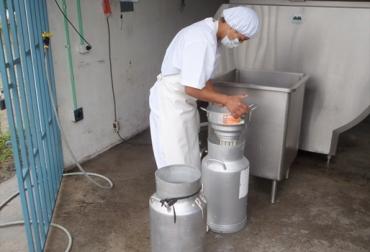 Centro de acopio lácteo
