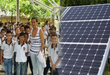 Paneles solares en colegios de Santander