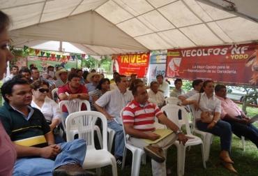 En el evento se entregó la placa de reconocimiento Miguel Santamaría Dávila.