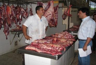 Venta de carne en Lérida