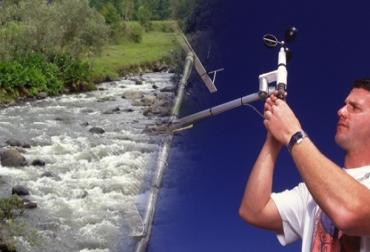 La tecnología preservar caudales de ríos