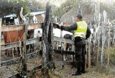 Policía en La Guajira y Magdalena