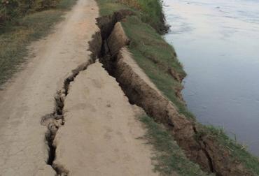 Desbordamiento del río Cauca