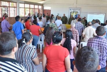 Reunión ganaderos en Arauca