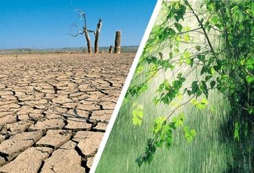 Lluvias e intensa sequía en Colombia