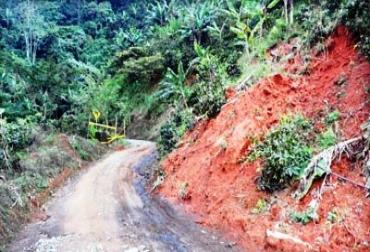Mintrasporte hará mantenimiento en las vías terciarias de Risaralda.