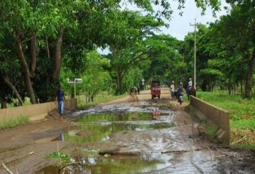 Los caminos en La Mojana tendrán adecuaciones de fondo